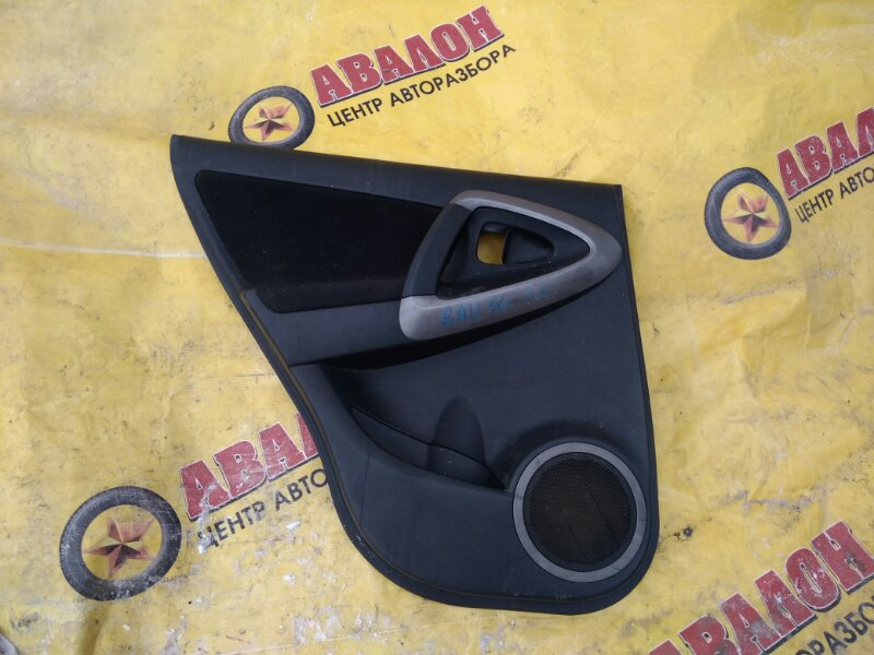 Обшивка двери Toyota Rav4 ACA31 задняя левая