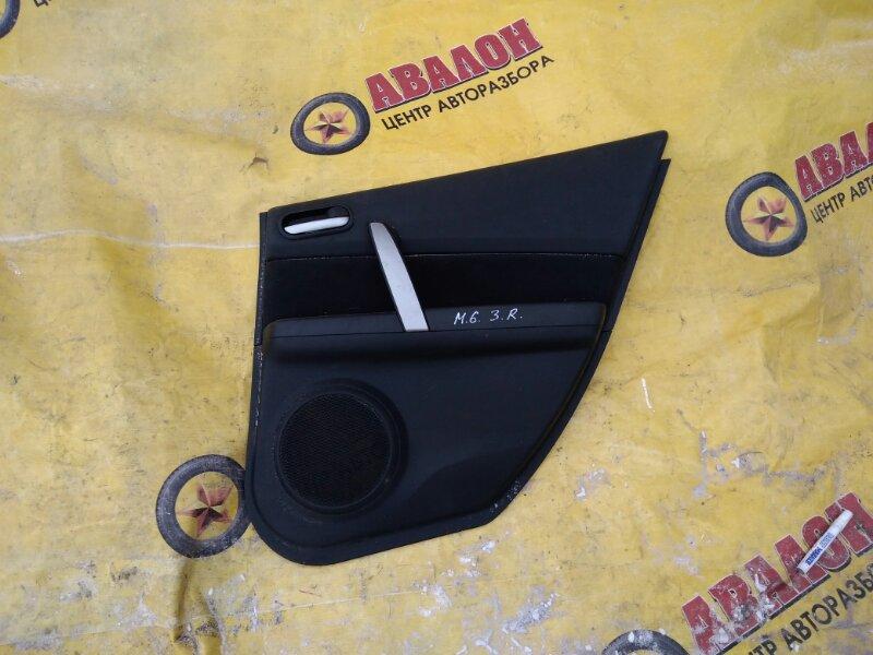 Обшивка двери Mazda 6 GH задняя правая
