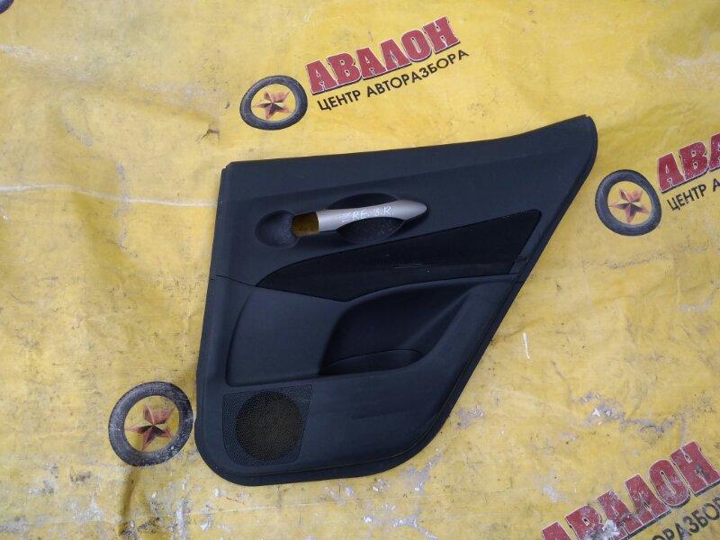 Обшивка двери Toyota Auris ZRE151 задняя правая