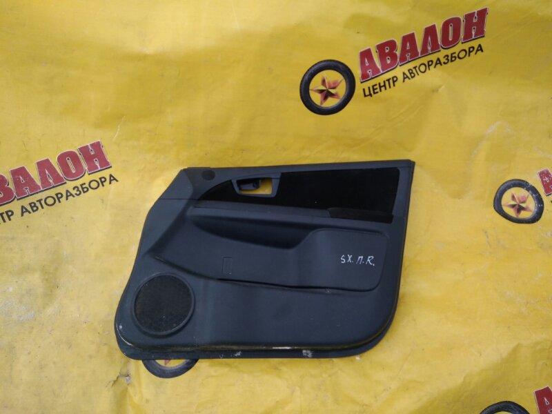 Обшивка двери Suzuki Sx4 GY M16A 2011 передняя правая