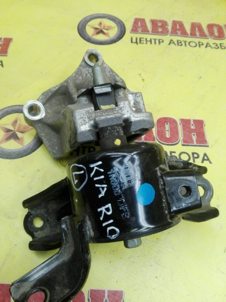 Подушка двигателя Kia Rio QB G4FC 2014 левая