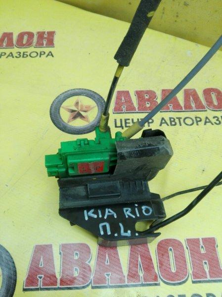 Замок двери Kia Rio QB G4FC 2014 передний левый