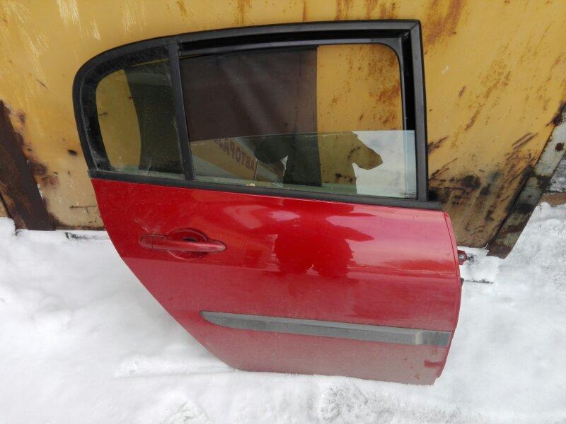 Дверь боковая Renault Megan LM K4M 2007 задняя правая
