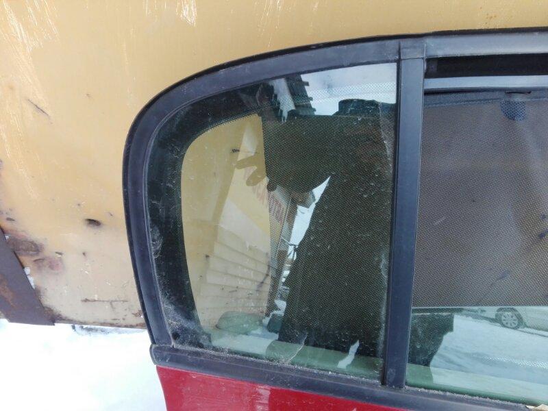 Форточка двери Renault Megan LM K4M 2007 задняя правая