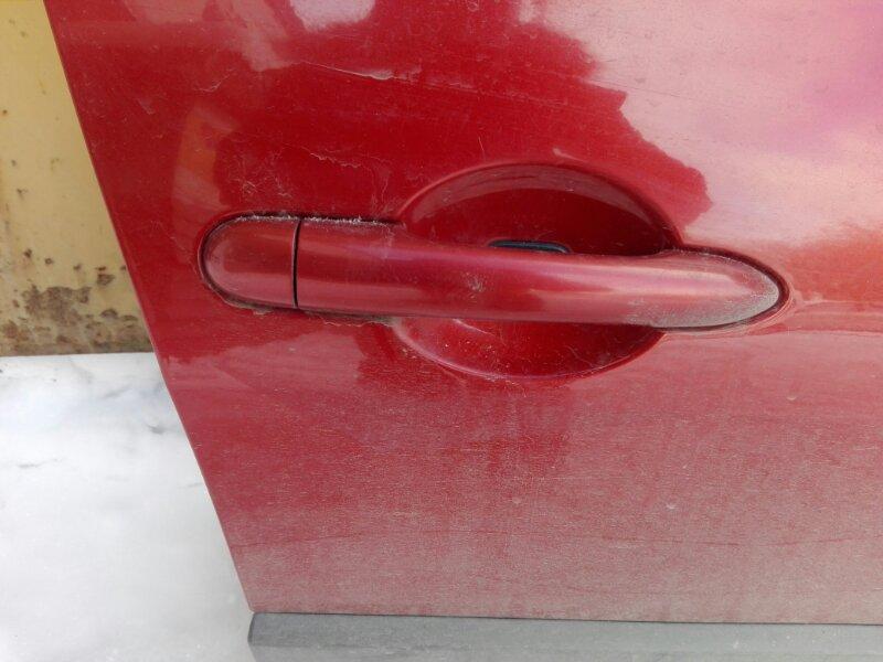 Ручка двери внешняя Renault Megan LM K4M 2007 передняя правая