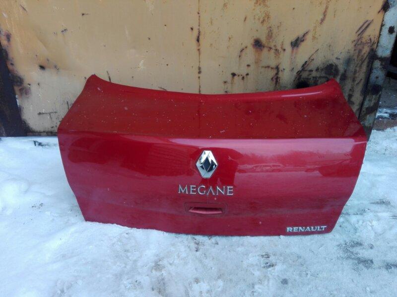 Крышка багажника Renault Megan LM K4M 2007