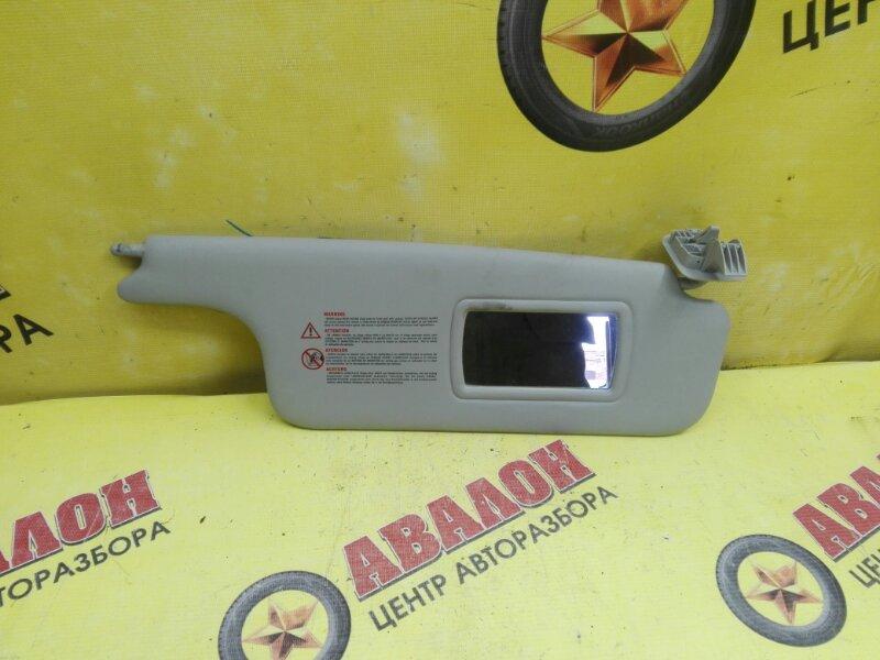 Козырек солнцезащитный Renault Megan LM K4M 2007 правый