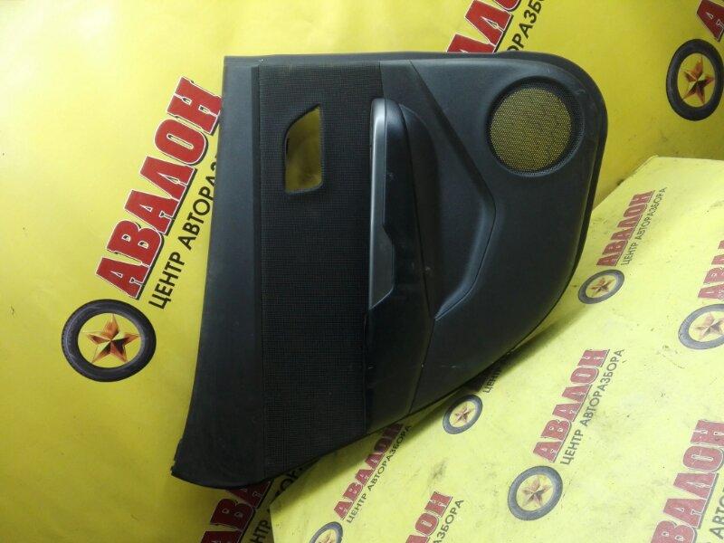 Обшивка двери Kia Rio QB G4FC 2014 задняя левая