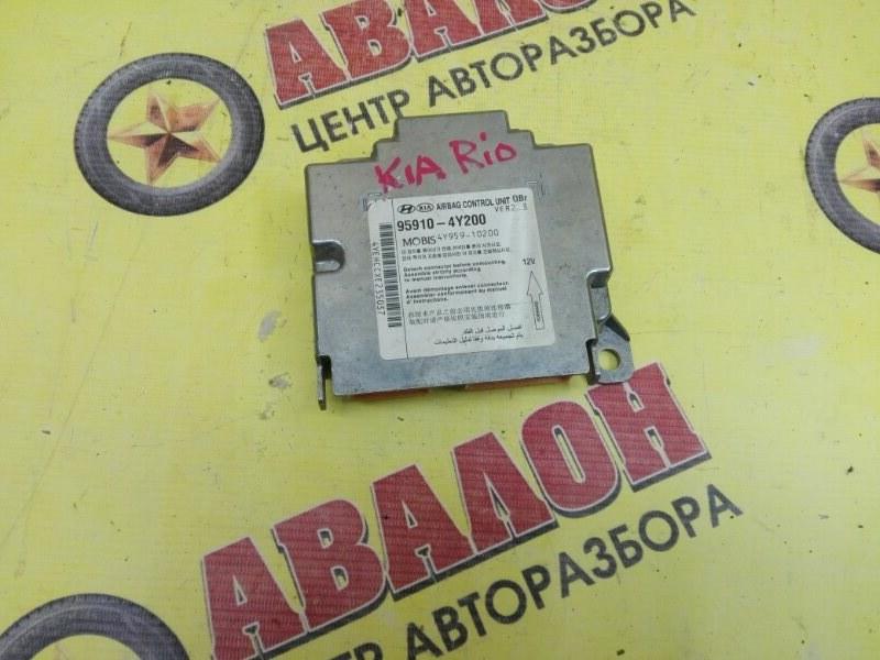 Блок управления airbag Kia Rio QB G4FC 2014