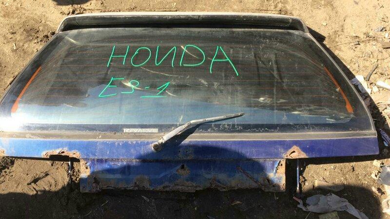 Дверь 5-я Honda Civic EF D15B 1990
