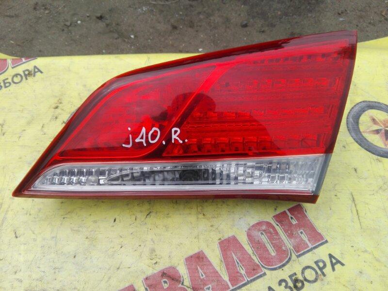 Стоп в крышку багажника Hyundai I40 VF G4NA 2013 правый