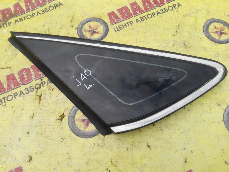 Стекло собачника Hyundai I40 VF G4NA 2013 левое