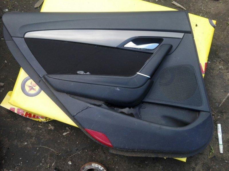 Обшивка двери Hyundai I40 VF G4NA 2013 задняя левая