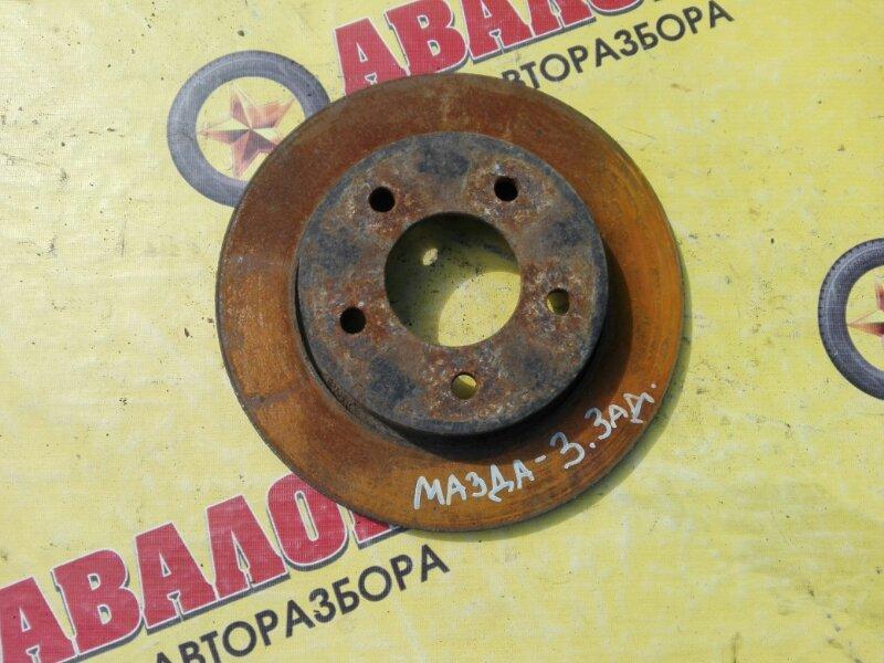 Тормозной диск Mazda 3 BK Z6 2007 задний