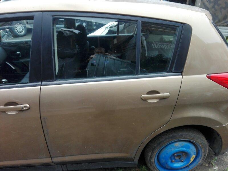 Ручка двери внешняя Nissan Tiida SC11 HR16DE 2008 задняя левая