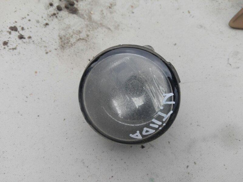 Фара противотуманная Nissan Tiida SC11 HR16DE 2008