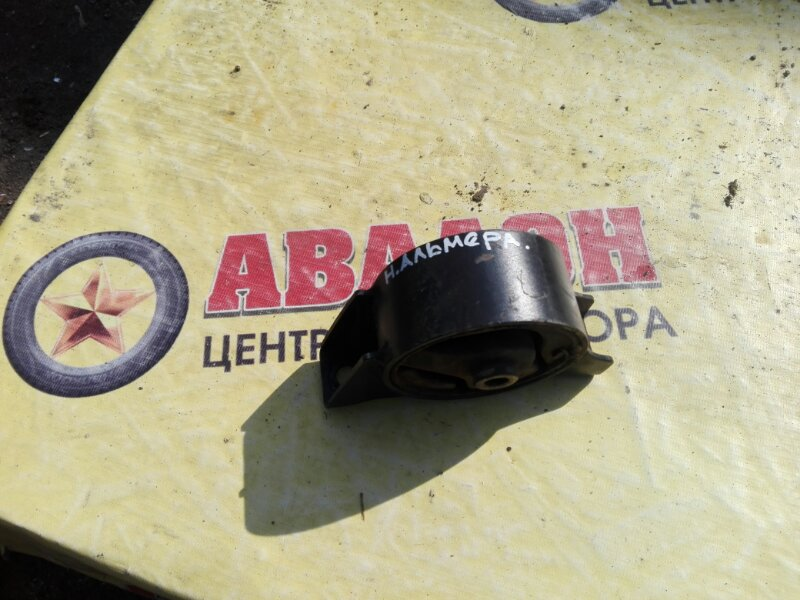 Подушка двигателя Nissan Almera Classic B-10 QG-16DE 2007 задняя