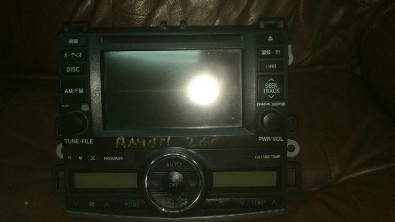 Магнитофон Toyota Allion ZRT260 2ZR-FE 2008