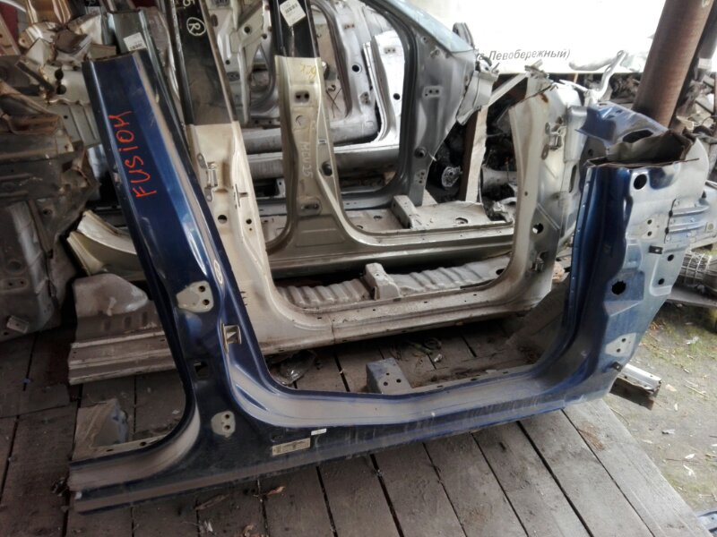 Порог кузова Ford Fusion CBK 4C 2004 правый