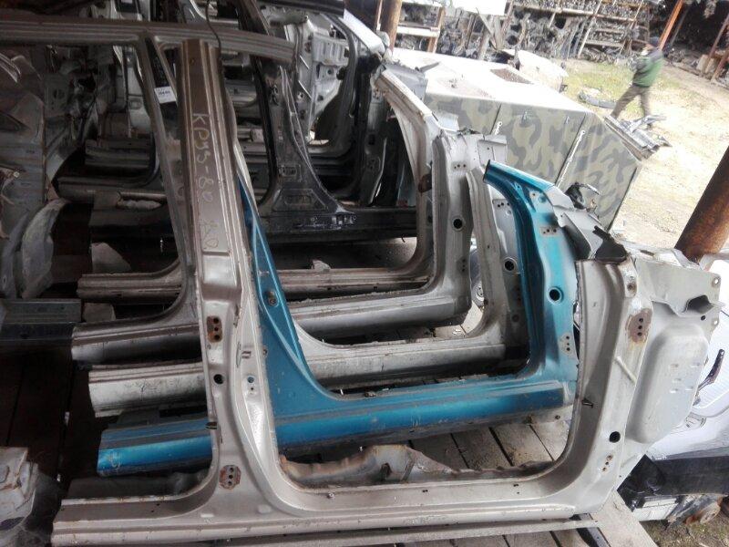 Порог кузова Toyota Land Cruiser HZJ81 1HZ 1994 правый
