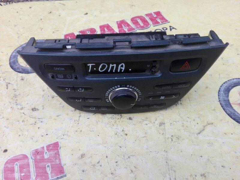 Блок управления климат-контролем Toyota Opa ZCT10 1ZZ-FE 2002