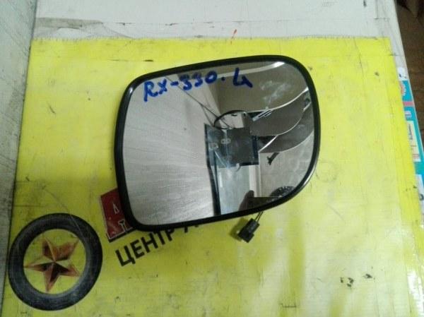 Зеркало-полотно Lexus Rx330 MCU38 3MZ-FE 2006 левое