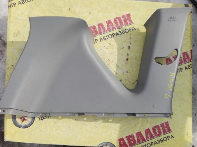 Обшивка багажника Toyota Rav4 ZSA30L 3ZR-FE 2010 задняя левая верхняя