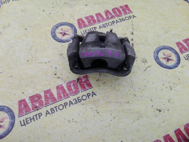 Суппорт Toyota Rav4 ZSA30L 3ZR-FE 2010 передний левый