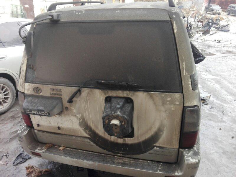 Дверь 5-я Toyota Land Cruiser Prado KZJ95 1KZ-TE 2000