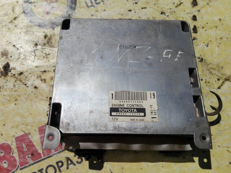 Блок efi Toyota Corolla NZE121 1NZ-FE 2003