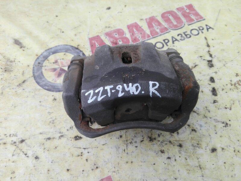 Суппорт Toyota Allion ZZT240 1ZZ-FE 2004 передний правый