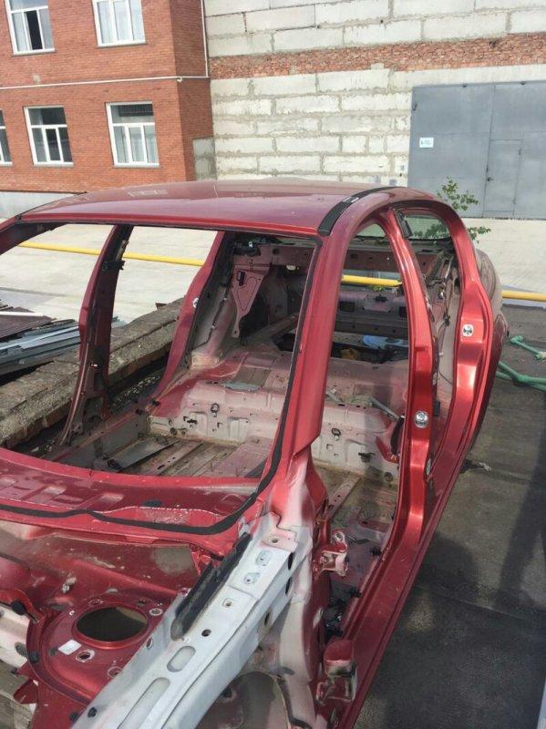 Порог кузова Renault Megan LM левый