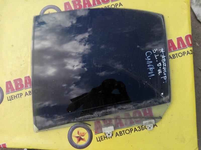 Боковое стекло Nissan Bluebird Sylphy QG10 QG18 DE 2004 заднее левое