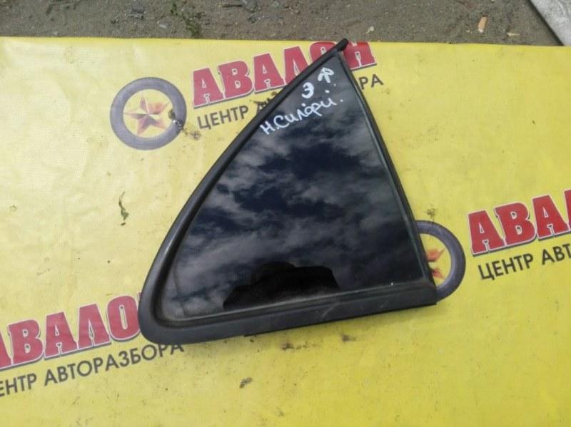 Боковое стекло Nissan Bluebird Sylphy QG10 QG18 DE 2004 заднее правое