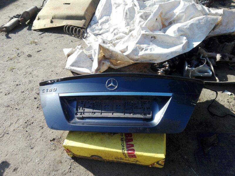Крышка багажника Mercedes-Benz C-Class W204 1.6 2013 задняя