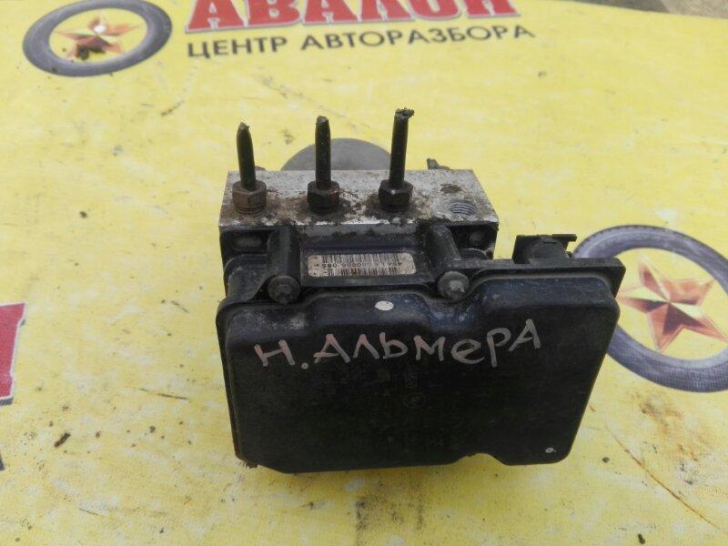 Блок abs Nissan Almera Classic B-10 QG-16DE 2007