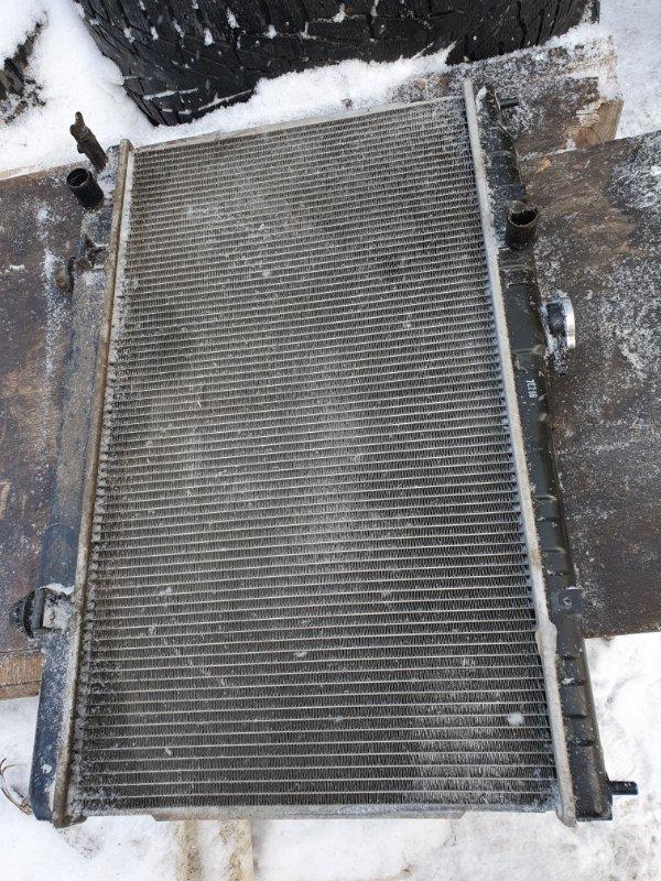 Радиатор основной Nissan Almera Classic B-10 QG-16DE 2007