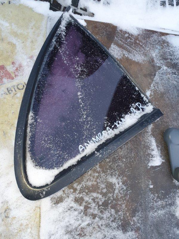 Форточка двери Nissan Almera Classic B-10 QG-16DE 2007 задняя правая