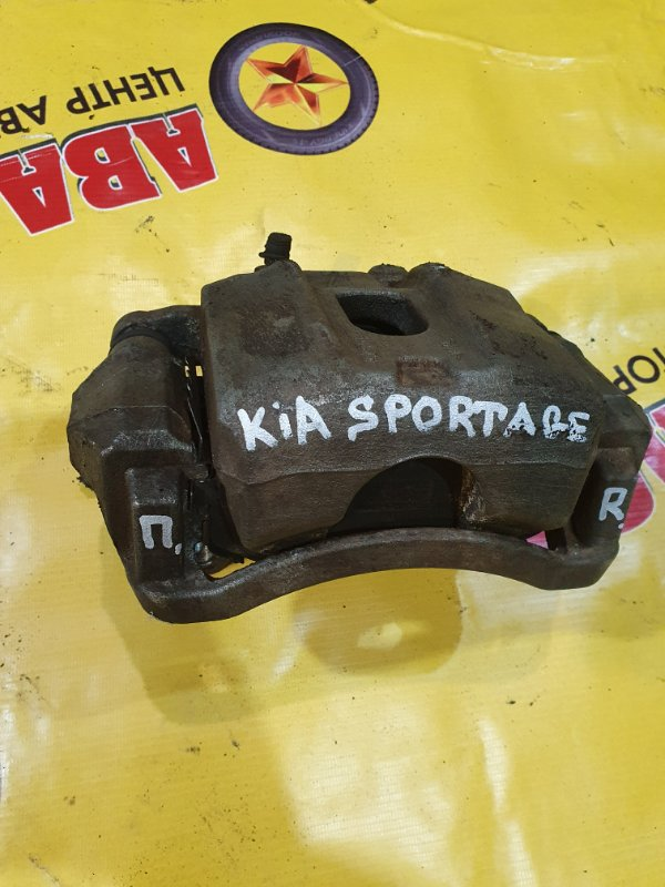 Суппорт Kia Sportage QL G4KJ 2020 передний правый