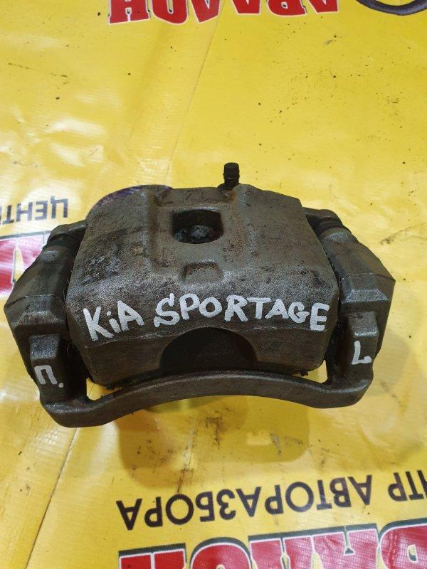 Суппорт Kia Sportage QL G4KJ 2020 передний левый