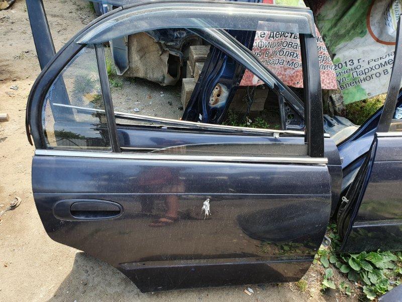 Дверь боковая Toyota Corolla EE100 4E-FE 1994 задняя правая