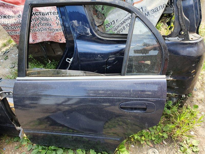 Дверь боковая Toyota Corolla EE100 4E-FE 1994 задняя левая