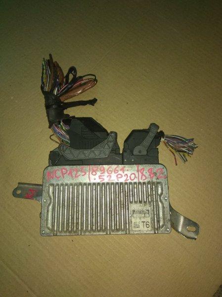 Блок управления двс Toyota Ractis NCP125 1NZ-FE