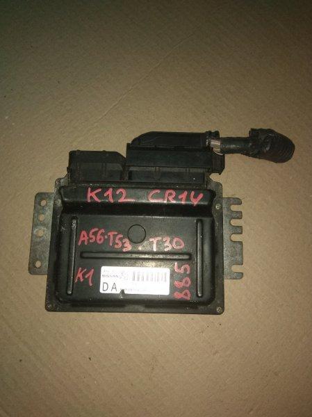 Блок управления двс Nissan March K12 CR14DE