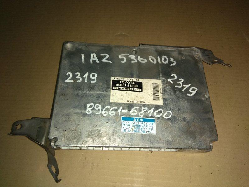 Блок управления двс Toyota Wish ANE10 1AZ-FSE