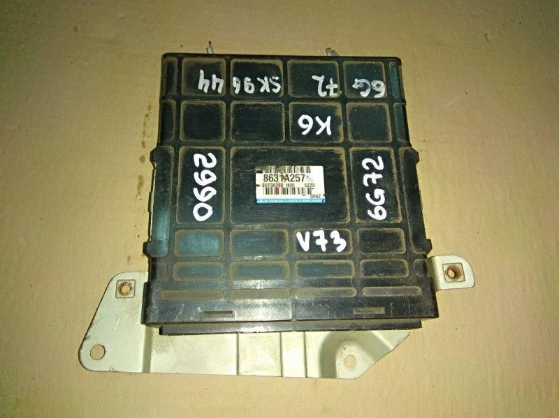 Блок управления двс Mitsubishi Pajero V73W 6G72