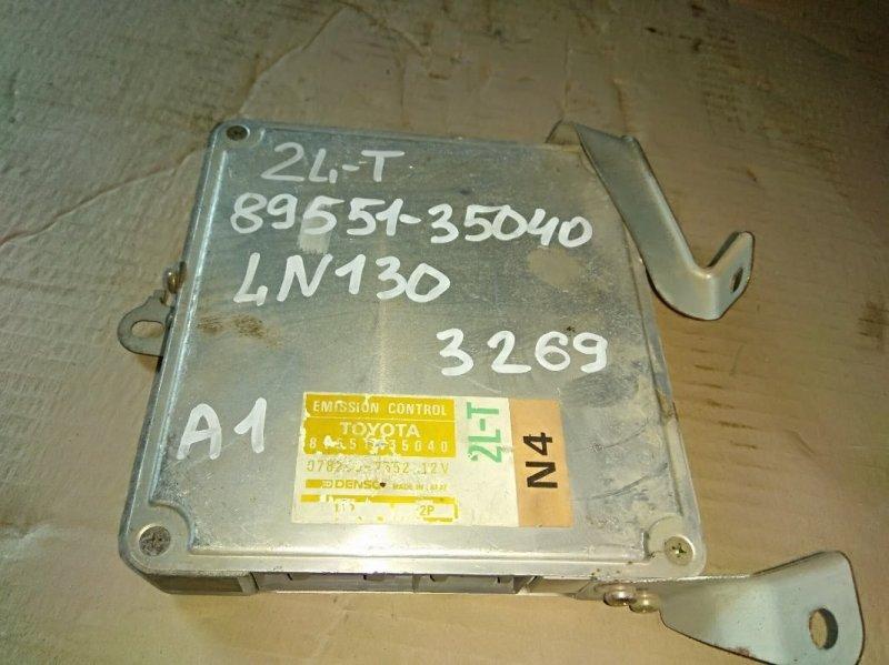 Блок управления двс Toyota Hilux LN130 2L-T