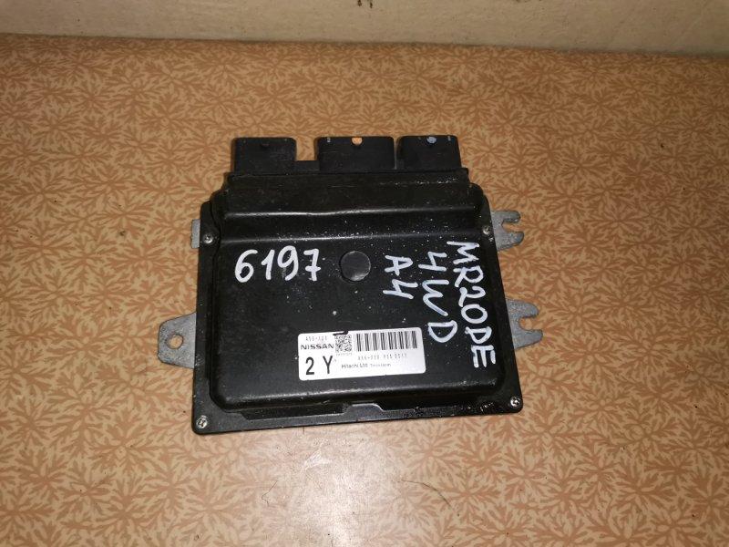 Блок управления двс Nissan Serena NC25 MR20DE