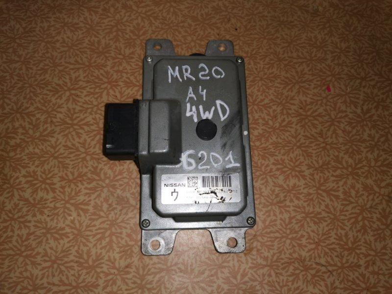 Блок управления акпп Nissan Lafesta NB30 MR20DE