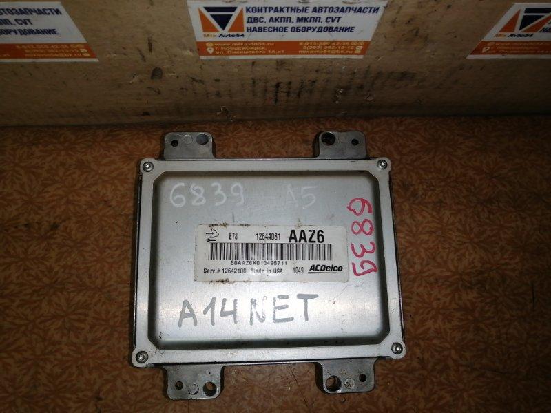 Блок управления двс Opel Astra P10 A14NET
